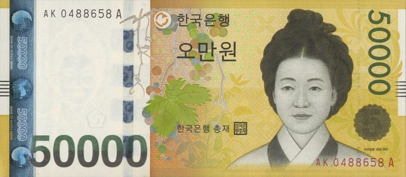 what korean coins and banknotes tell us