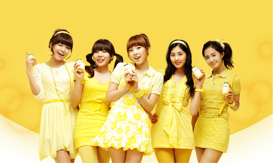 Colorful Endorsers for the Milk