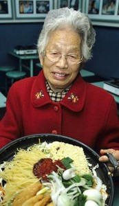 """The late Ma Bok Rim who is considered the """"mother"""" of modern day ddeokbokki as we know today."""