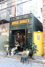 Exterior of Boogie Burger