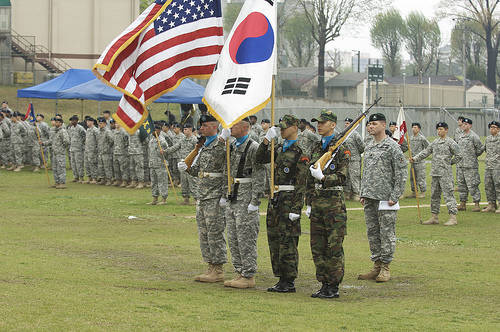 Image result for Korea US military