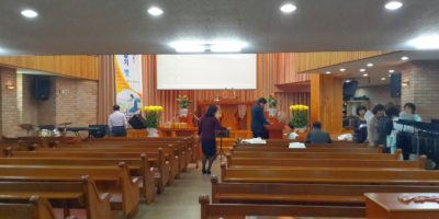 working as a pastor/missionary Korea